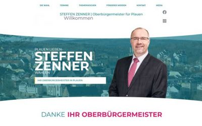 Oberbürgermeister Steffen Zenner